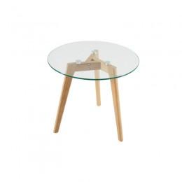 Круглый кофейный столик.